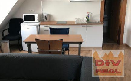 1 izbový byt, apartmán, (garsonka) v centre, Bratislava I, Staré mesto, zariadený, cena vrátane internetu a KTV Magio