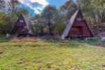 Chatka s pozemkom o rozlohe  835  m² na príjemný relax v Štiavnických vrchoch