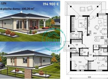 Rezevované-Na predaj  Novostavba Rodinný dom v Nových Zámkoch