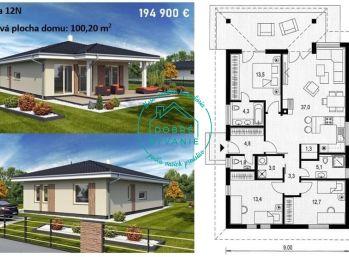 Na predaj stavebné pozemky s projektami RD v Nových Zámkov