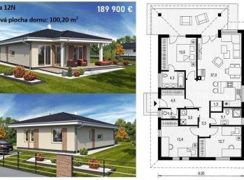 Na predaj stavebné pozemky s projektami RD  v Nových Zámkoch