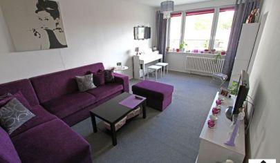 Pri Petržalskej stanici ponúkame na predaj priestranný 2 izbový byt s balkónom