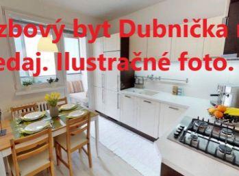 Dubnička 3 izbový byt na predaj s loggiou
