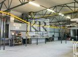 Výrobný objekt vrátane technológie práškové lakovanie na PRENÁJOM, Dubnica nad Váhom