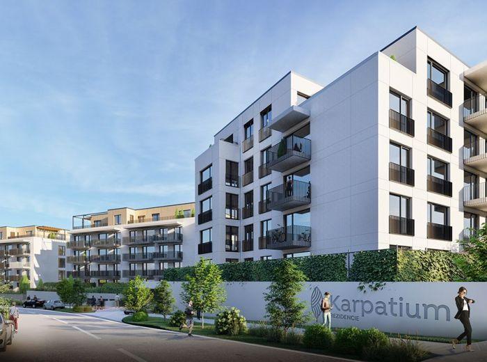 KARPATIUM rezidencie, 2-i byt, 48 m2 - prestížny komplex, NADŠTANDARDNÉ BYTY za uvádzacie ceny, TICHÁ lokalita