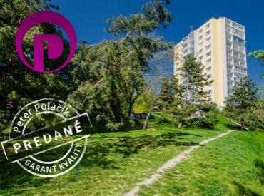 PREDANÉ - 3i byt, 73 m2– BA-Kramáre: skvelá lokalita s dychberúcim výhľadom + parkovanie v garáži