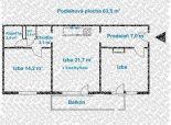 3 izb. byt, JADROVÁ ul., zrekonštruovaný podľa Vašich predstáv