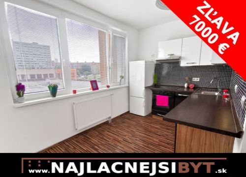 NOVÁ VÝHODNÁ CENA: BAV - Petržalka, Holíčska ul., 1 zbový byt i, 35 m2, kompletná rekonštrukcia ZĽAVA 2.000,-€