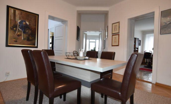Bjornsonova, 4 izbový slnečný staromestský byt s loggiou a balkónmi na predaj