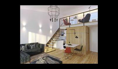 Predaj – 2 izbový byt s galériou, kancelársky priestor, obchodný priestor v radovom, polyfunkčnom dome – Láb. Okr. Malacky