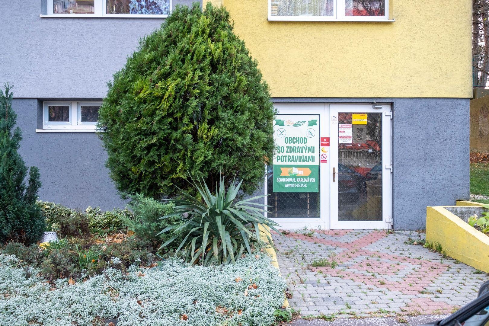 Obchodný objekt-Predaj-Bratislava - mestská časť Karlova Ves-99000.00 €