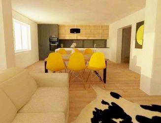 Tehlový 3 izbový byt so záhradkou na predaj v priamom centre Martina
