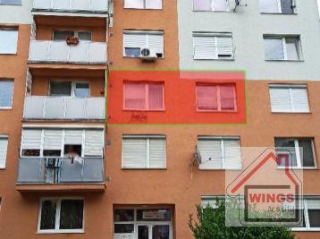 !!! Výrazne znížená cena !!! 1 izbový byt Sereď Novomestská ul.