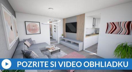 EXKLUZÍVNE Predaj 2-izbový bytu (61m2) na Brezovci