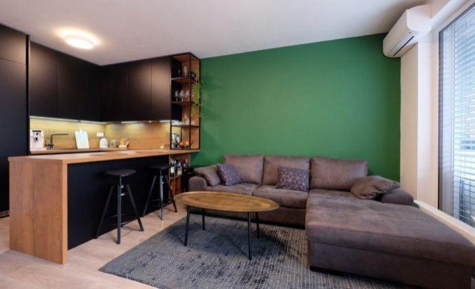 2 izb. byt s veľkou terasou v novostavbe s možnosťou parkovania na ulici Mlynske Nivy-Bratislava II. Ružinov