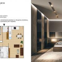 3 izbový byt, Vrakúň, 90.43 m², Novostavba