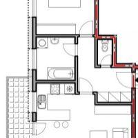 2 izbový byt, Veľký Krtíš, 54 m², Vo výstavbe