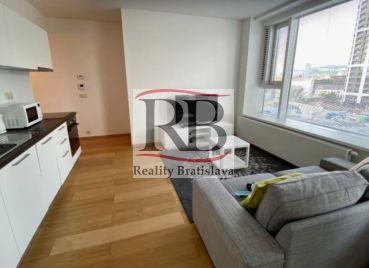Na prenájom 1 izbový byt v novostavbe Panorama City na Landererovej ulici v Starom Meste, BAI