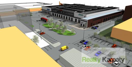 Na prenájom logisticko-obchodné priestory od 1300-8000m2+administratíva, parkovanie, TOP lokalita Bratislava-3.