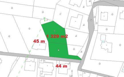 Slnečný stavebný pozemok 1 329 m2, pre náročného klienta, Banská Bystrica – cena 93 € / m2