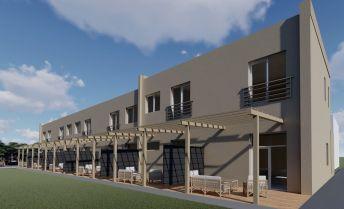 Rezidencia Zadná, 4 izbové mezonetové byty s vlastným pozemkom, Prievidza