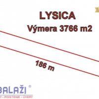 Poľnohospodárska pôda, Lysica, 3766 m²