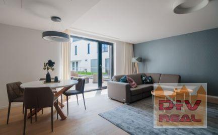 3 izbový byt, Na štyridsiatku, Vila Slavín, Bratislava I, Staré Mesto, nový, zariadený, veľká terasa, parkovanie