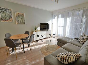 Prenájom 2-izbový byt v novostavbe s parkovaním, Bratislava-Nové mesto, Račianska