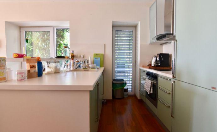 Príjemný 2-izbový byt so záhradou a výhľadom na Bratislavu v blízkosti Horského parku