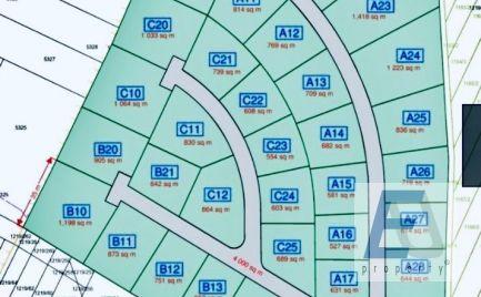 Stavebné pozemky Stará Lesná od 500 m2 do 700 m2 v cene od 85 eur/m2