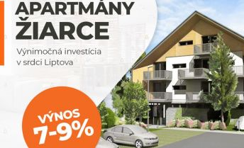 Investičné apartmány Žiarce