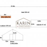 Skladovacie, Malacky, 338 m², Pôvodný stav