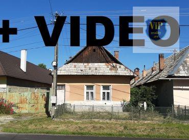 ViP Video. Rodinný dom 3+1 s veľkým pozemkom 2300 m2, Zvolen - Ostrá Lúka