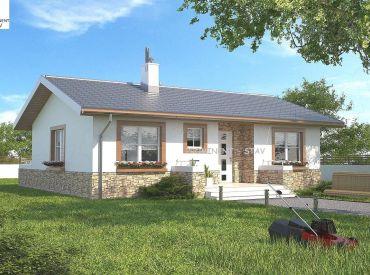 ViP Video. Novostavba bungalovu s pozemkom 567 m2, Zvolen - Podzámčok