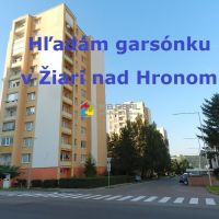 Garsónka, Žiar nad Hronom, 22 m², Pôvodný stav