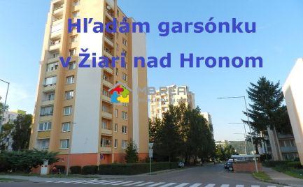NA KÚPU - garsónka v Žiari nad Hronom