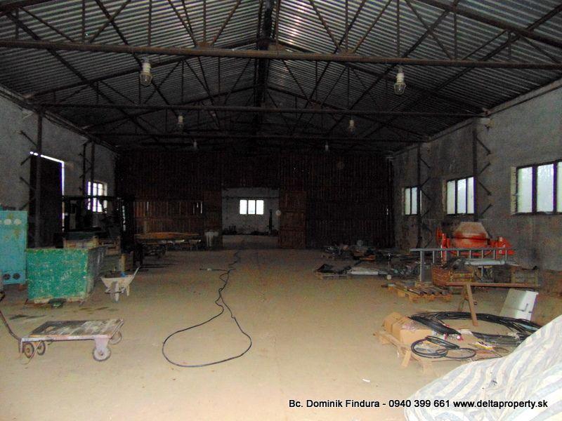 DELTA - Výrobno-skladovacia hala na predaj Markušovce