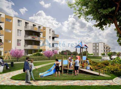 Areté real, Predaj novostavby 2-3 izbových bytov so záhradkami v tesnej blízkosti centra mesta Pezinok - NOVÁ ETAPA