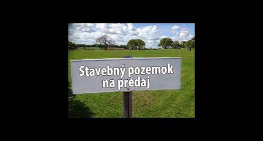 Ponúkam na predaj stavebný pozemok v obci Kalinovo