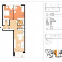 3 izbový byt, Beluša, 88.27 m², Vo výstavbe