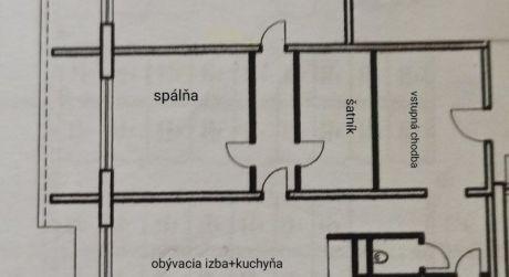 3-izbový byt na ulici Rezedovej