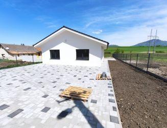 Rodinný dom na predaj - bungalov,  novostavba, Socovce okres Martin, pozemok 550 m2.