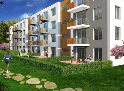 Areté real, Predaj novostavby 2- izbového bytu s balkónom v tesnej blízkosti centra mesta Pezinok - NOVÁ ETAPA