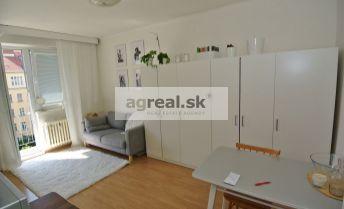Prenájom, 1-izb. byt (30 m2 + 3 m2 balkón) so spacím kútom v TOP lokalite, ul. Dunajská, BA I- centrum