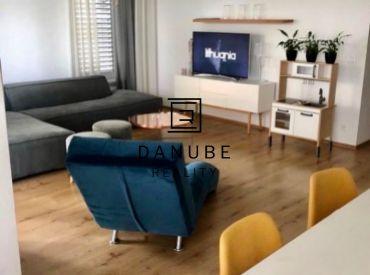 Prenájom - nový 3 izbový byt 77 m2 s terasou 33 m2 a parkovaním na Bajkalskej ulici, projekt Nový Ružinov, Bratislava.