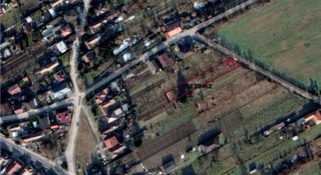 Stavebný pozemok pre RD vo Viničnom na ulici Pod lesom je na predaj