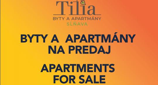 PREDANÉ Novostavba 2-izbový byt 81 m2 s veľkou terasou, Piešťany-Sĺňava