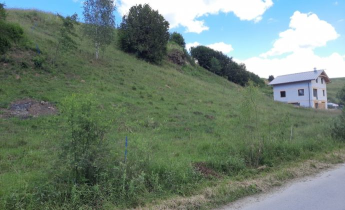 PREDAJ: Pozemok pre rekreačnú výstavbu 1216 m2, Dobroč - Brôtovo, obec Čierny Balog, okres Brezno