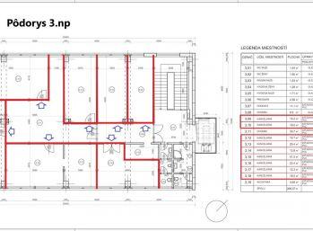 BA Pestovateľská – veľmi pekné kancelárie 268 m2 – 1 uzatvorené podlažie.