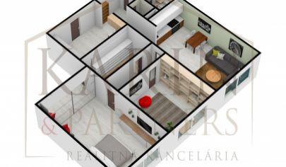 Virtuálna obhliadka. Na predaj 3 izb. byt. BA - Ružinov